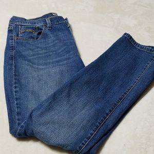 Jean's Levi 505 straight leg